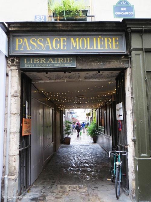 Mon petit secret : le passage Molière