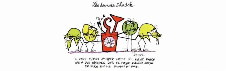 Shadoks dessin planète