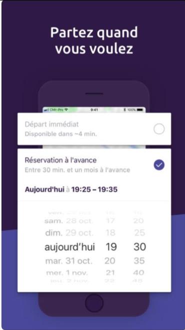 voiture taxi transport fiable rapide heure pas cher Paris