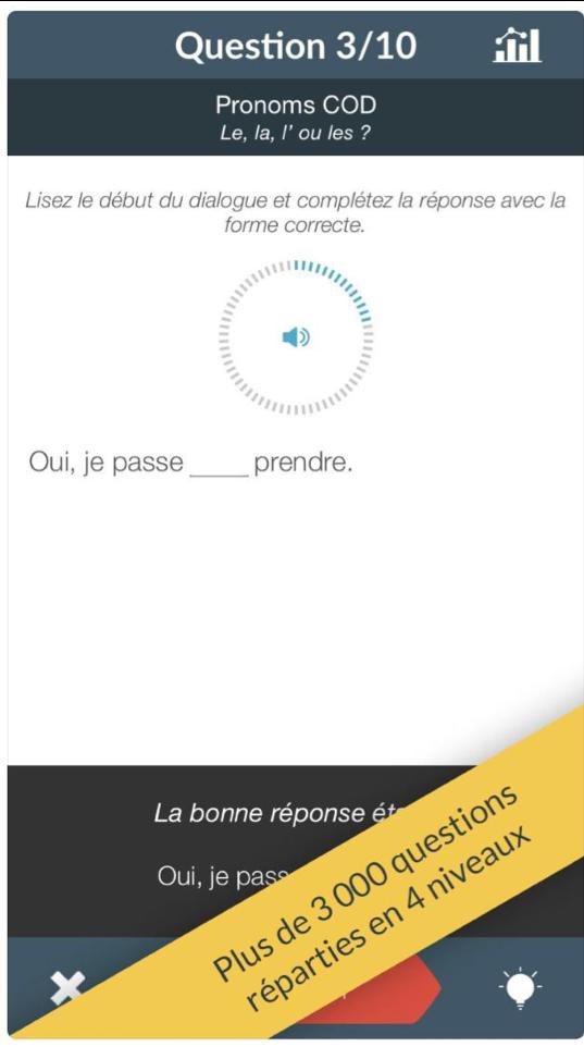 oral écrit français exercice apprendre applications