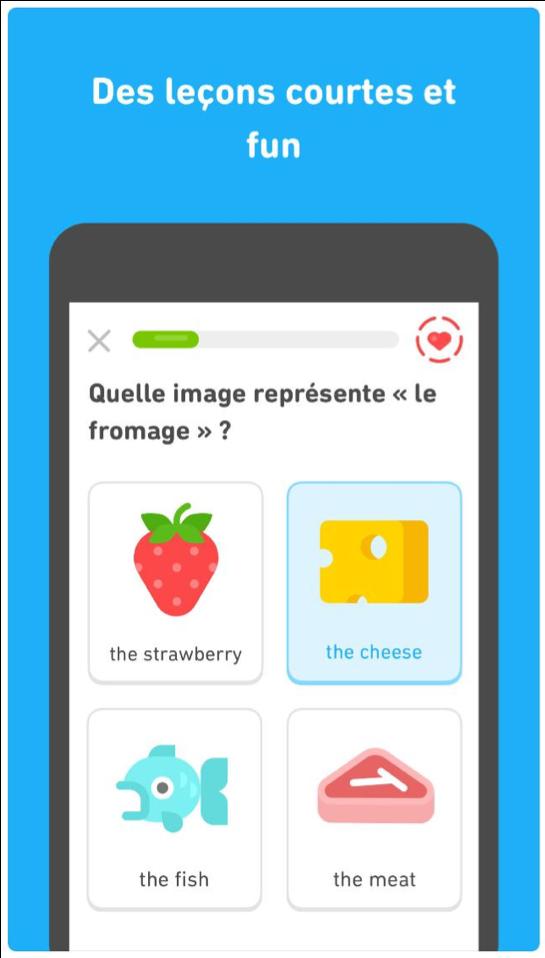 enfant rapide ludique français apprendre applications