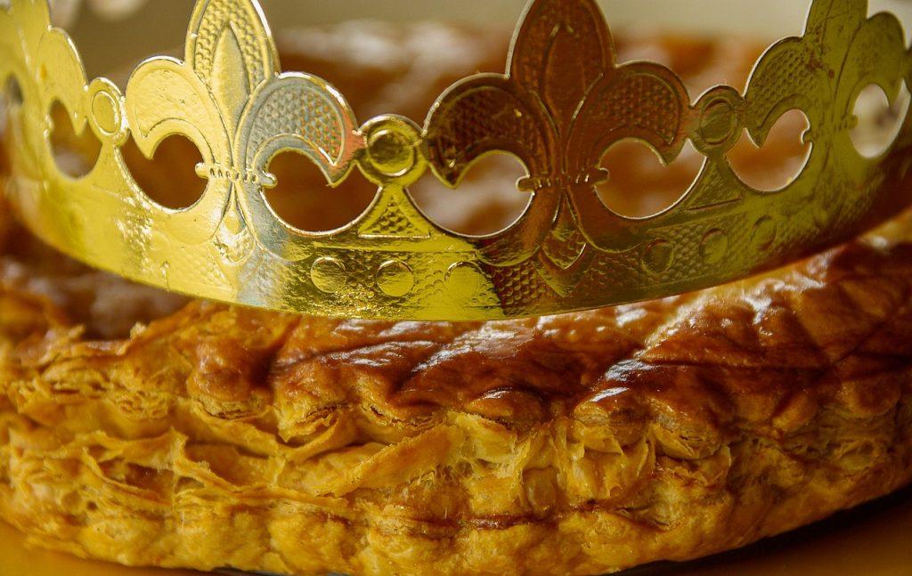 épiphanie couronne galette