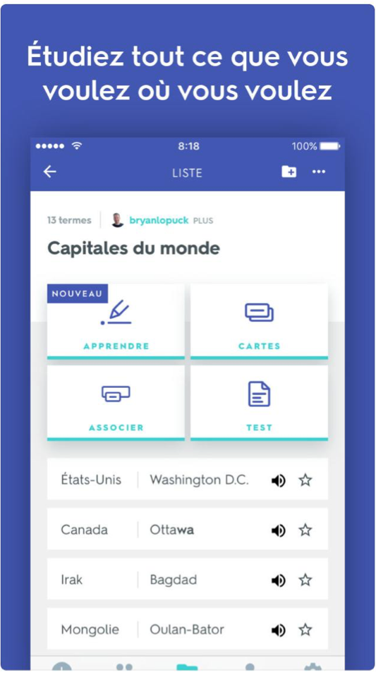 The 5 free applications you need to learn french