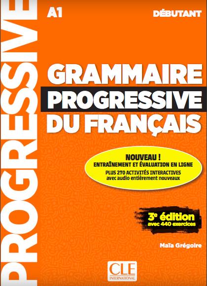 grammaire progressive débutant A1 cours français apprendre livre
