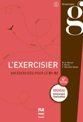 exercisier grammaire français française cours exercice b1 b2 confirmé