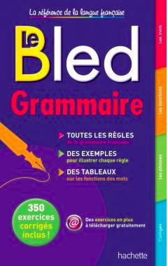 bled grammaire livre recommandé français France apprendre