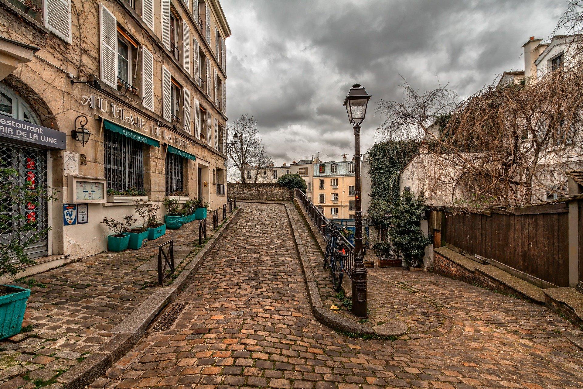 arrondissement à Paris Montmartre