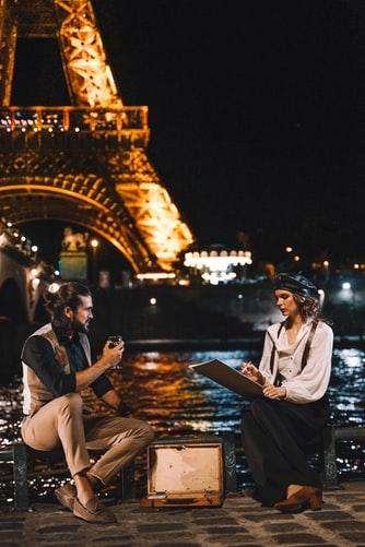paris en chanson : ville romantique