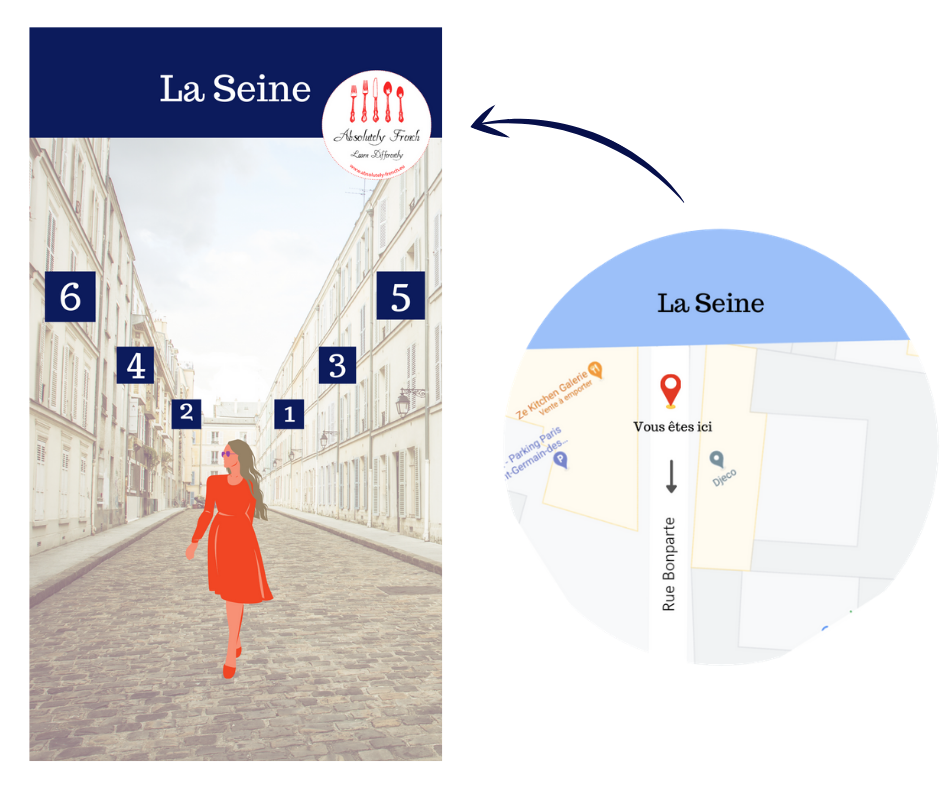 Numérotation des immeubles Paris rue perpendiculaire