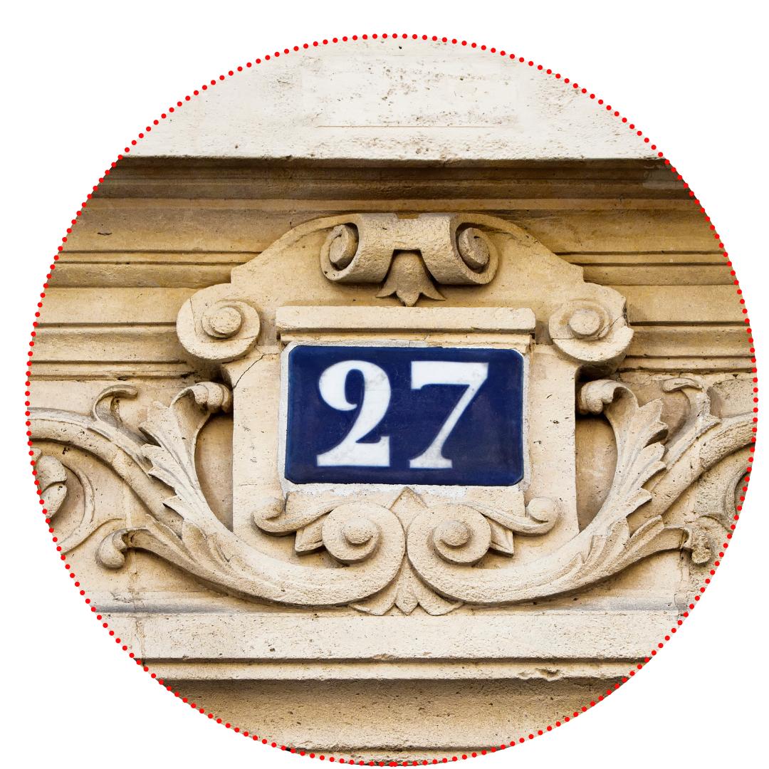 Numérotation des immeubles Paris