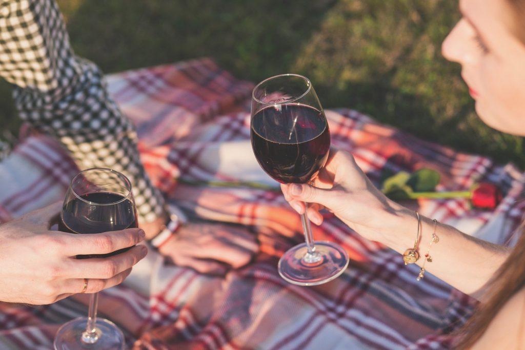 Vignes, week-end romantique
